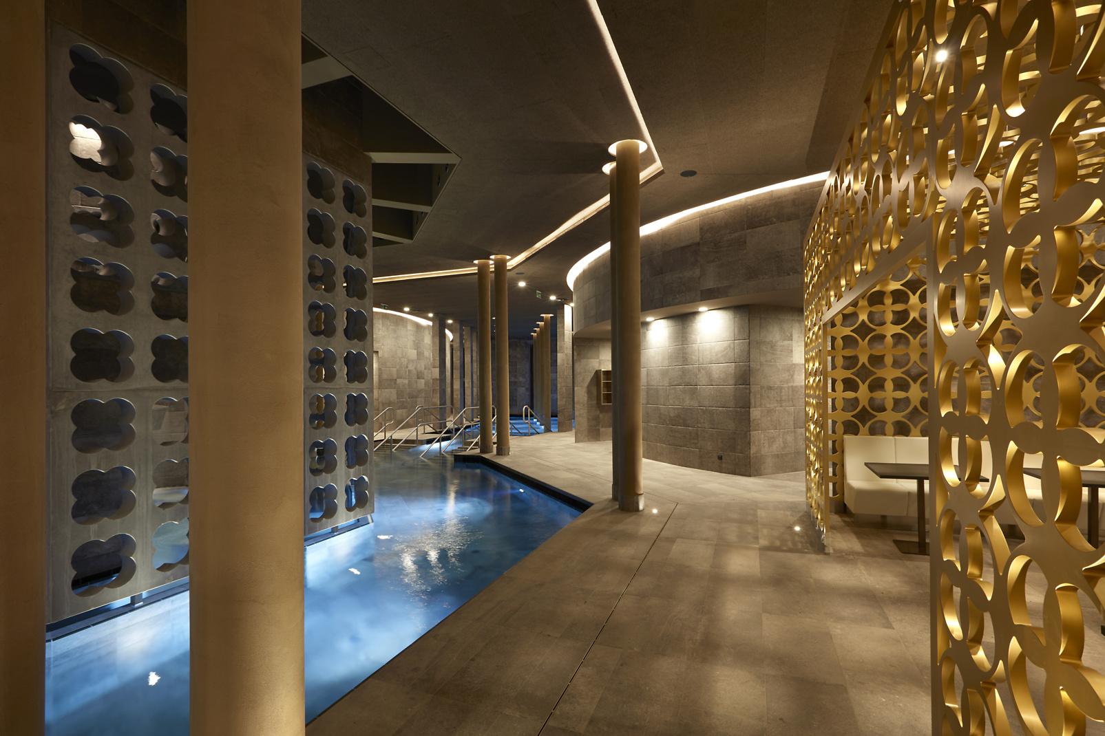 Luxuriöser Wellness-Tempel: Caparol