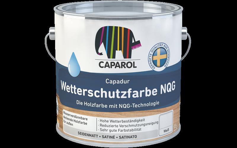 Häufig Capadur Wetterschutzfarbe NQG: Caparol YL52