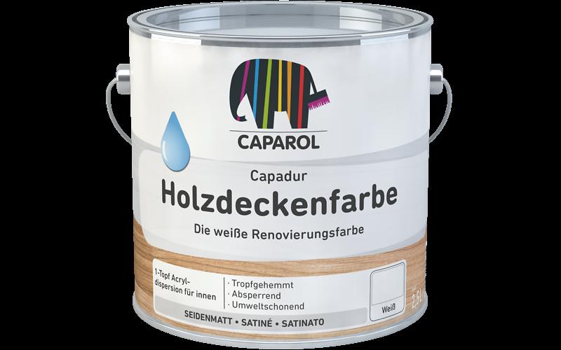 Sehr Capadur Holzdeckenfarbe: Caparol PB27
