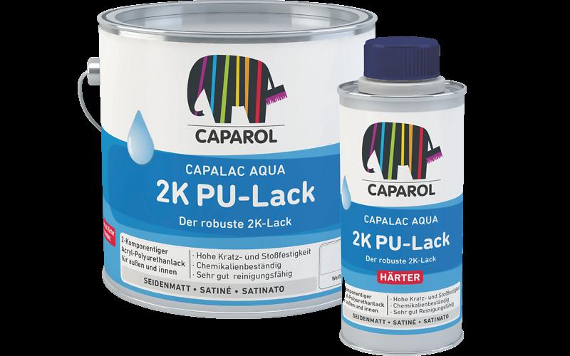 Capalac Aqua 2K PU-Lack: Caparol
