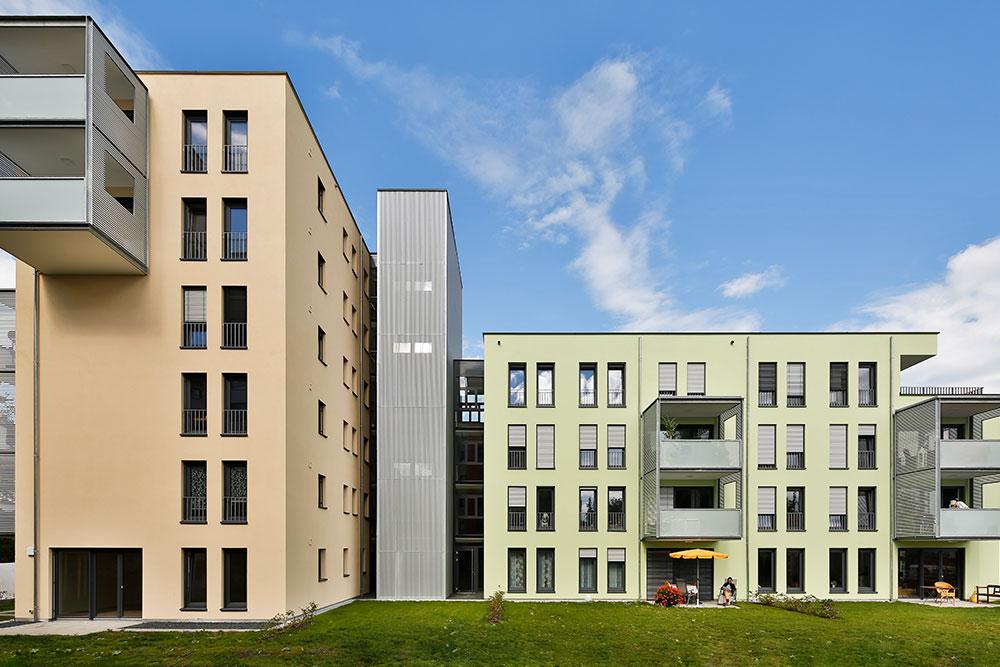 Fassadenfarben: Caparol