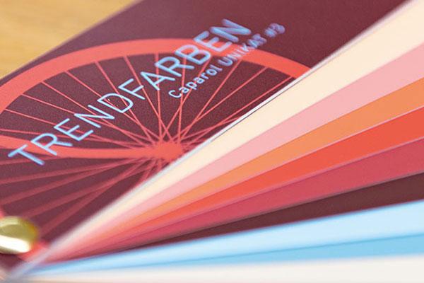 Farbtonkollektionen Gestaltung Caparol