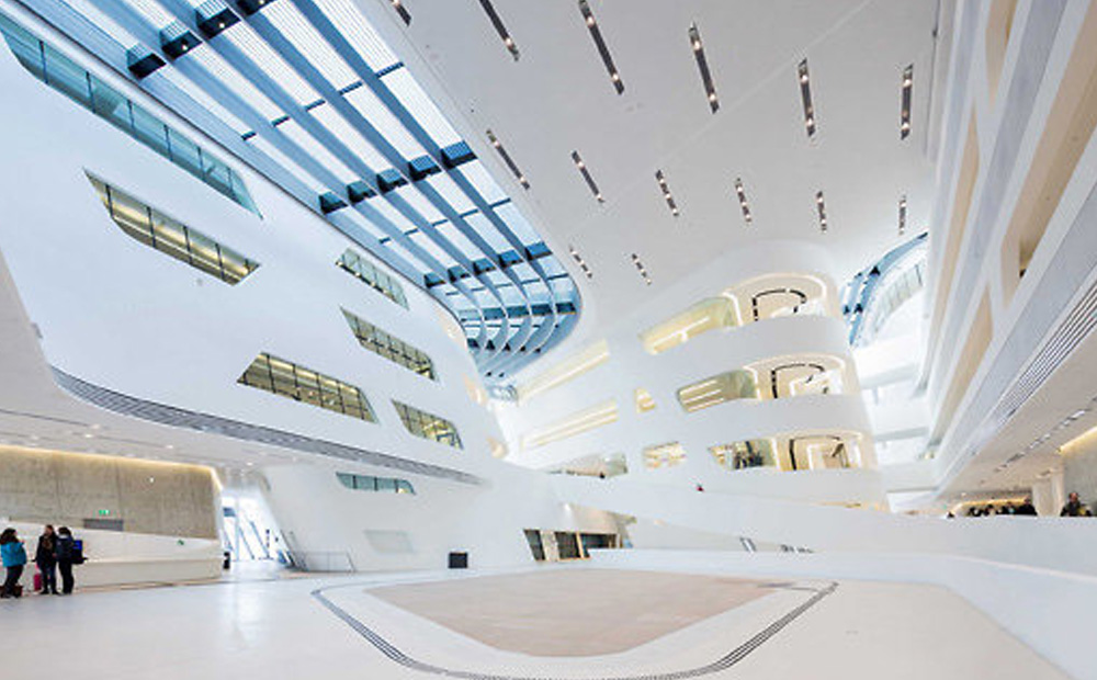 Project: Library & Learning Center, Wien<br />