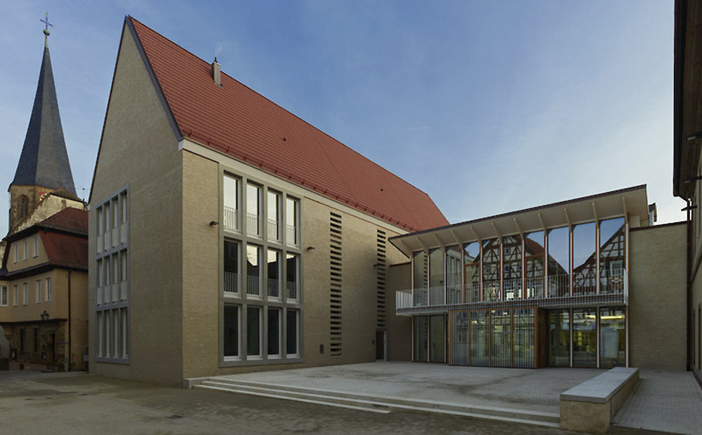Project: Extension of town hall Brackenheim<br />