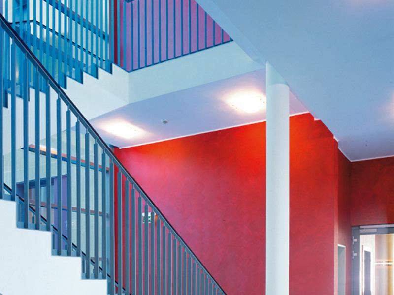 Treppenhaus gestalten altbau  Treppenhaus: Caparol