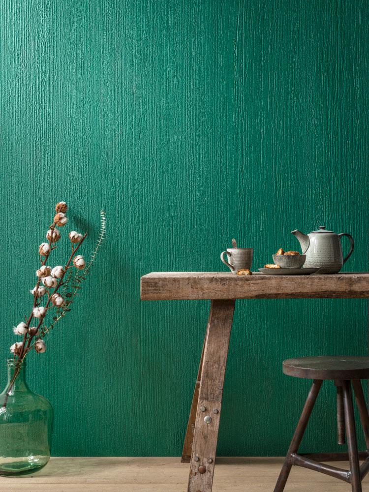 kräftiger grün blauer farbton