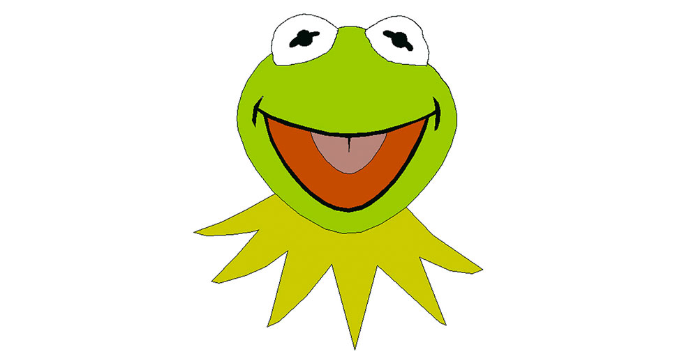"<a href=""https://www.youtube.com/watch?v=rRZ-IxZ46ng"" target=""_blank"">It Ain´t Easy Being Green</a> - Kermit the Frog singt diesen Titel von Joe Raposo. Der Frosch ist unglücklich über seine aussergewöhnliche grüne Hautfarbe."