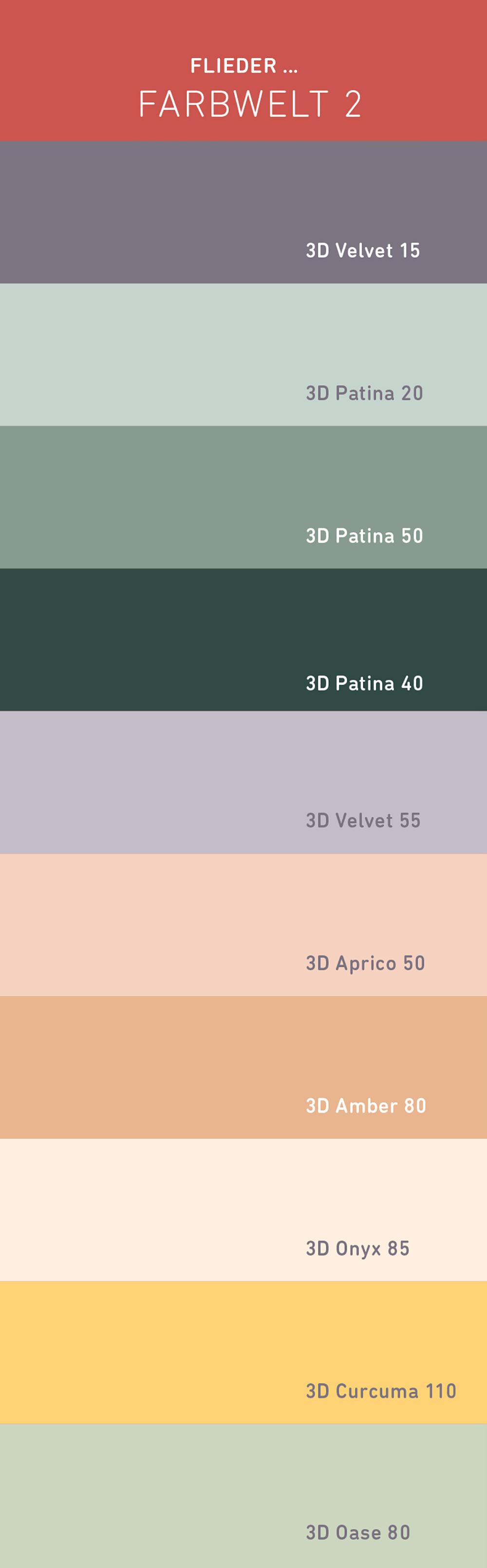 Die Neuen Caparol Trendfarben 2019 Caparol